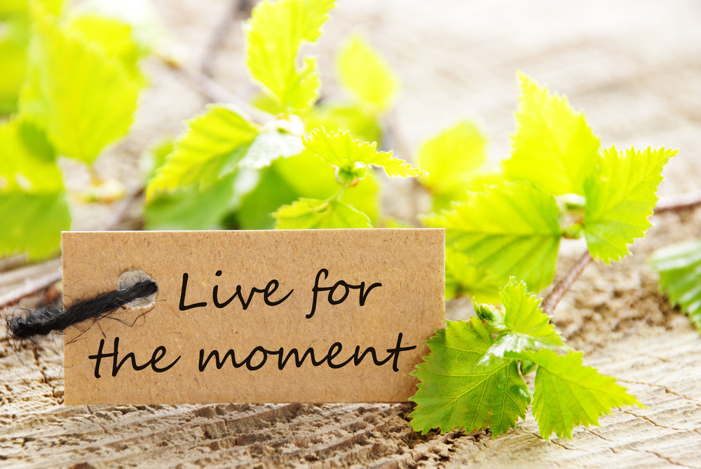 Live for the moment vs save for the future 1